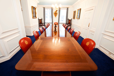 Coopers Hall Court Room - meeting venue