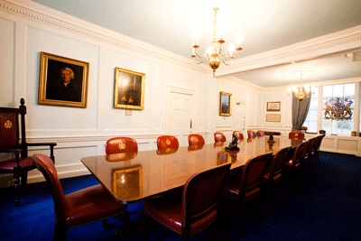 Coopers Hall Court Room meeting room hire