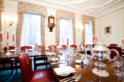 Coopers Hall Dining Room London hall hire